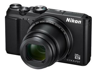 Nikon Coolpix A900 20mp 4k Hd W/ 2 Baterias / Envio Gratis