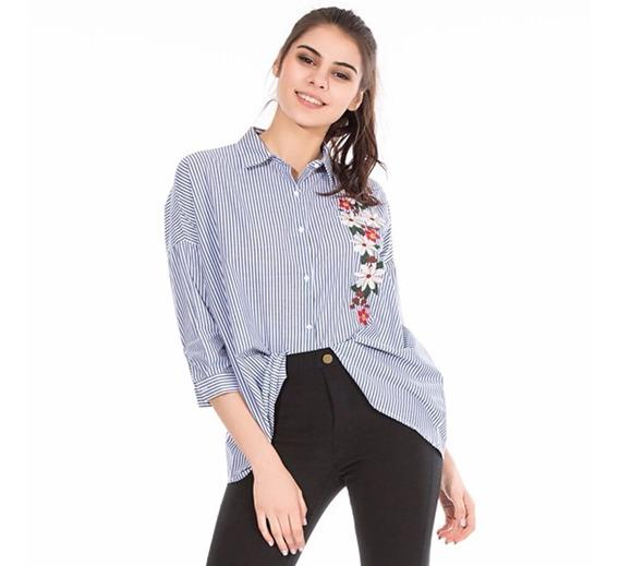 30089369693e Mujer Camisas Bordadas - Camisas de Mujer en Mercado Libre Uruguay