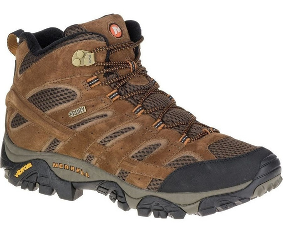 Bota Merrell Waterproof Brown