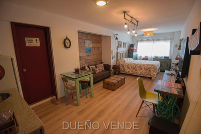 Monoambiente Hecho A Nuevo C/garage, Zona Aidy Grill, Dueño