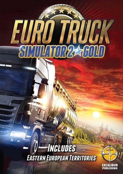Euro Truck Simulator 2 Gold Edition Pc + Online Steam