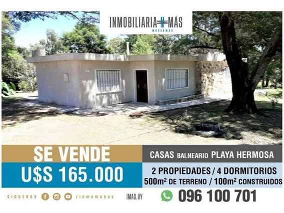 2 Casas 2 Dorm 1 Baño C/u A Estrenar
