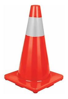Cono Precaución Reflectivo Naranja Truper Cono-45r - 45cm