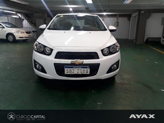 Chevrolet Sonic Lt 2014 Blanco No Permutamos