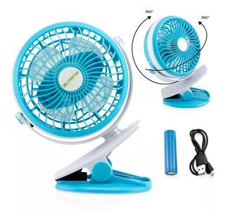Mini Ventilador Usb Ideal Para Hogar Oficina Colores Varios