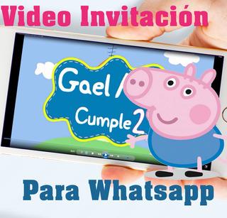 Invitaciones Peppa Pig En Mercado Libre Uruguay
