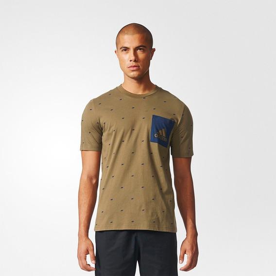 Camiseta adidas Remera Hombre Caballero Casual Mvdsport