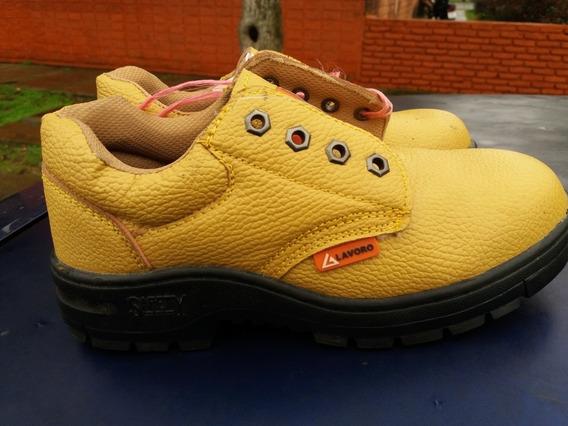 Zapatos De Trabajo Con Punteras Y Suela Reforzada N° 37