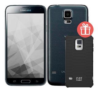 Samsung Galaxy S5 G900 5,1 4g 2gb 16gb Cpo + Estuche Cat Amv