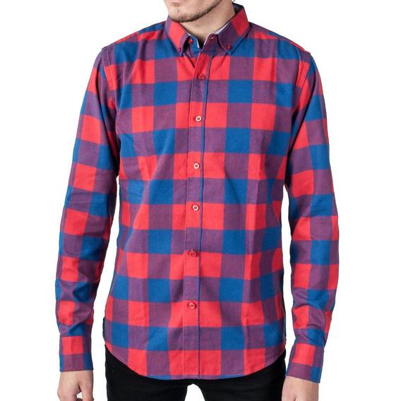 3a8ea73f1d35 Camisa A Cuadros Negra Y Roja - Camisas en Mercado Libre Uruguay