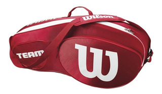 Bolso Para 3 Raquetas Wilson Match Team Raquetero