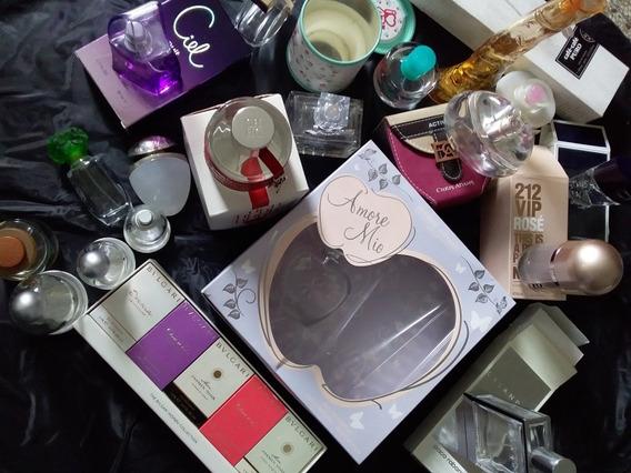 Coleccionistas. Frascos De Perfume Vacíos.