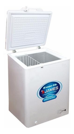 Freezer Horizontal James J100 Doble Accion Gtía 2 Años