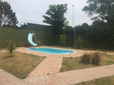 Aalquilo Casa Con Piscina , Tobogan ,wifi Y Directv