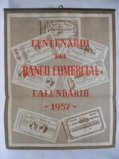 Calendario Del Ano 1957.Calendario Banco De Seguros En Mercado Libre Uruguay