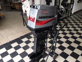 Motor Mariner 40 Hp Arranque Manual Pata Larga