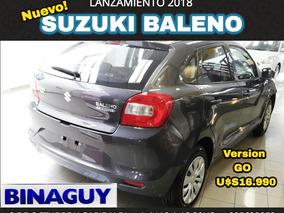 Suzuki Baleno Go/ A Solo U$s 15.990 Permuto Y Financio!