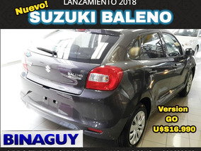 Suzuki Baleno Go 2018 0 K.m. U$s 16.990 Permuto Y Financio!