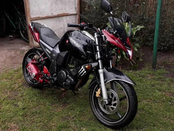Yamaha Fz16 153cc Fazer, Chocada.