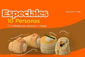 Lunch Especial Porto Vanila 10 Personas Opción 2 - (8658)