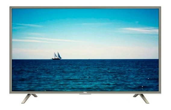 Tv 55 Led Tcl Uhd 4k Smart Isdbt + 2 Años De Garantia
