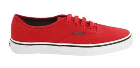 Championes Vans Authentic (sport Pop) Red/pewt - Inbox Store