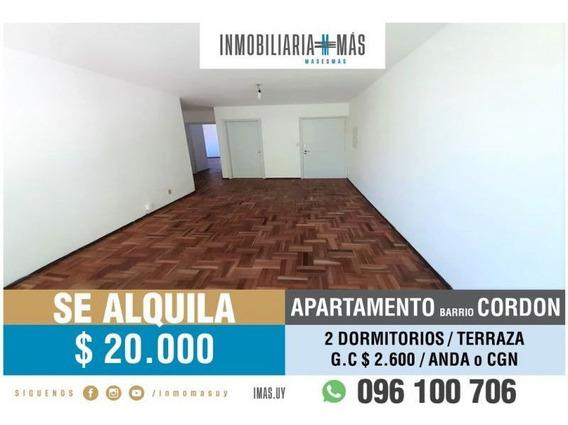 Apartamento Alquiler Palermo Montevideo Inmobiliaria Mas R