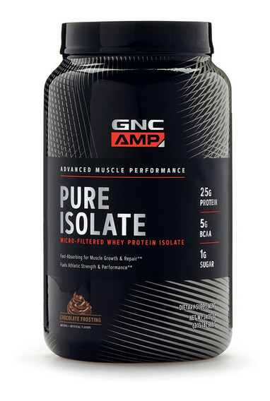 Gnc Amp Pure Isolate 2lb
