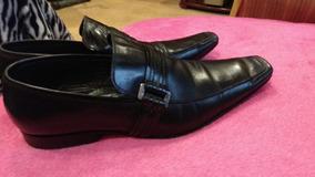 Zapatos Zara Cuero De Hombre 39 - 40