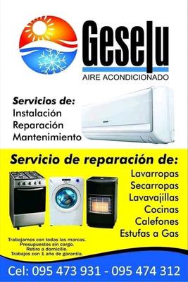 Service Reparación De Lavarropas Con Garantía