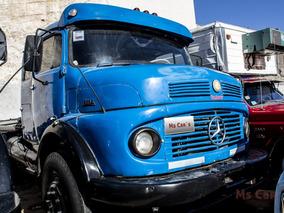 Mercedes Benz 1114 Tractor 1976 Azul