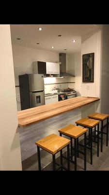 Apartamento 90mts2 Amueblado Impecable!