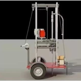 Planos Maquina Perforadora De Pozos