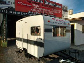 Casa Rodante Brandsen Mod:3,10 Mts Std Matrim Nueva 0km 2018