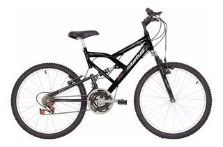 Bicicleta 24 Status - Doble Suspensión - Origen: Brasil -