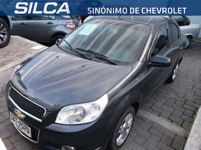 Chevrolet Aveo Lt 2014 Gris Oscuro 4 Puertas