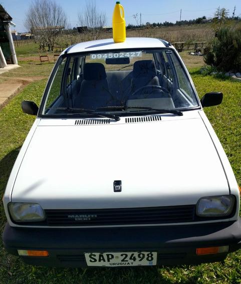 Suzuki Maruti 800 C.c. Año 94 Nafta 22 Kms/litro.
