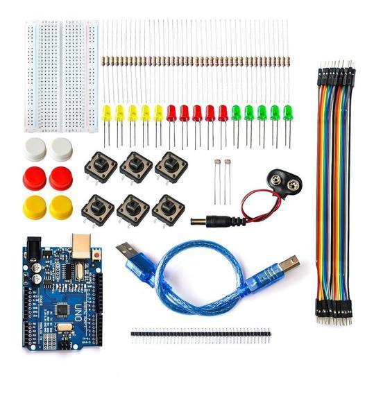 Arduino Kit Placa De Arranque Uno R3 Componentes De Circuito