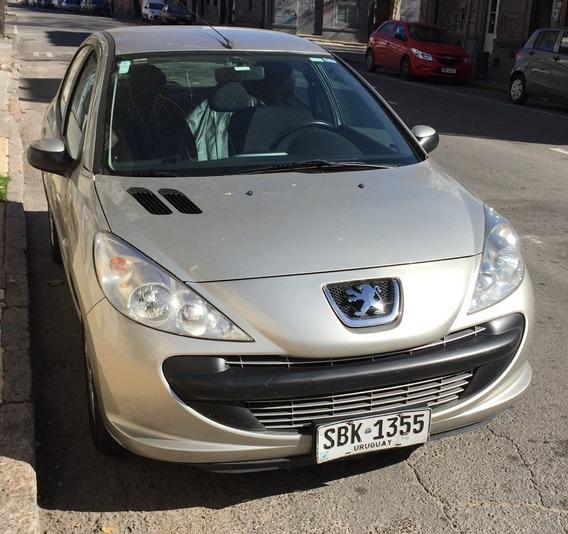 Peugeot 207 Compact 1.4 Francés 2010 Gris 100.000 Km