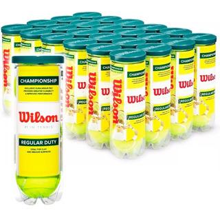 Set Wilson 24+1 Tubos Pelota Tenis Regular Duty - El Rey