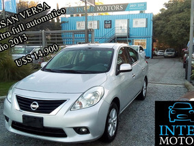 Nissan Versa 1.6 Sense At U$s 13.300 Intermotors