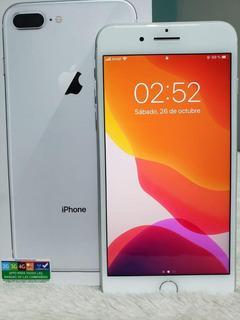 iPhone 8 Plus Libre Como Nuevo Completo En Caja Con Accesori