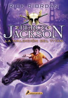 Libro: Percy Jackson 3 La Maldición Del Titán - Riordan