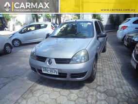Renault Clio 1.2 Authentique Aa Da 2008 Buen Estado Oferta!!