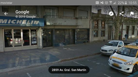 Alquiler De Local Comercial En San Martín Próx A Garibaldi