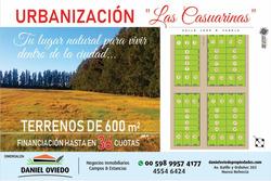 Urbanización Las Casuarinas Terrenos De 600 M2 En Preventa