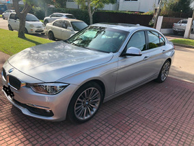 Bmw 320i 2.0 Luxury Extra Full Automatico 2017 Gris Plata