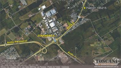 Vende Terreno De 3415 Mts² Sobre Ruta 8 (próx. Zonamérica)