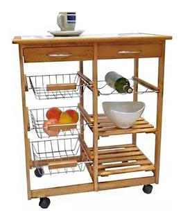 Mesa Auxiliar Para Cocina Hogar Muebles Y Jardin En Mercado Libre