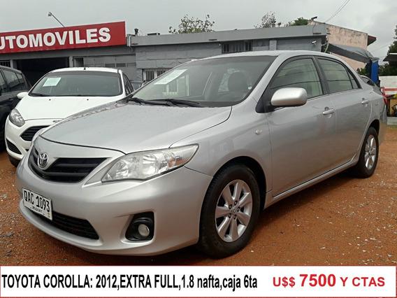 Vendo Financio Toyota Corolla 1.6 Gli Dual
